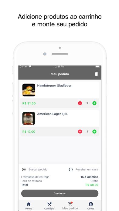 Gladiador Cervejaria screenshot 4