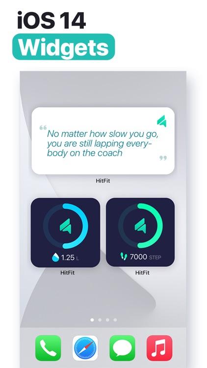HitFit - At Home Workouts screenshot-7