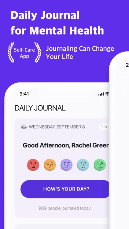 Daily Journal: Self-Care