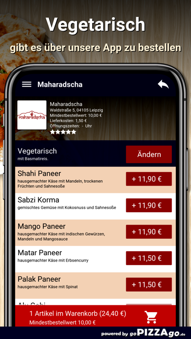 Maharadscha Leipzig screenshot 6