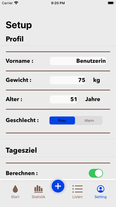 GutTrinken screenshot 1