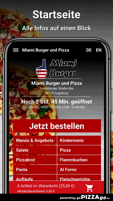 Miami-Burger Augsburg screenshot 2
