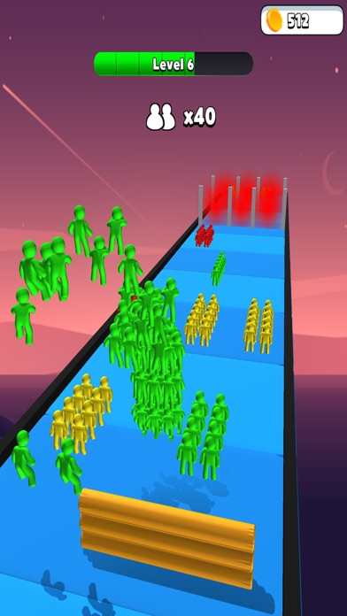 Colorful Racing Strike Guys screenshot 4
