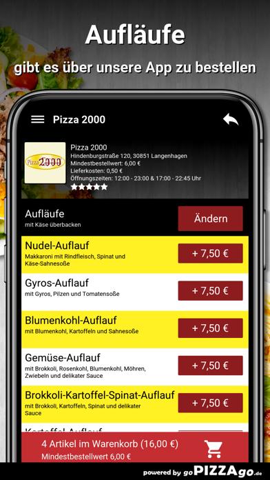 Pizza 2000 Langenhagen screenshot 1