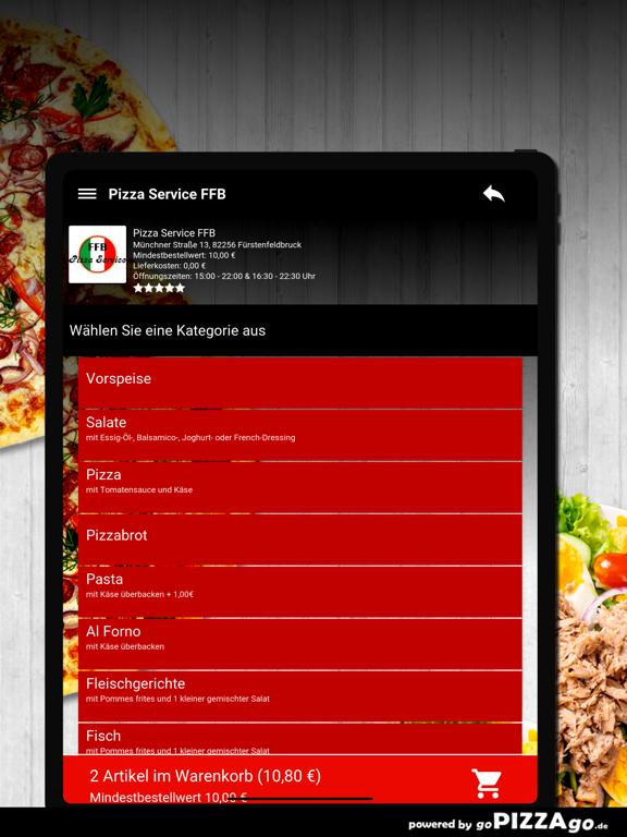 Pizza Service FFB Fürstenfeldb screenshot 8