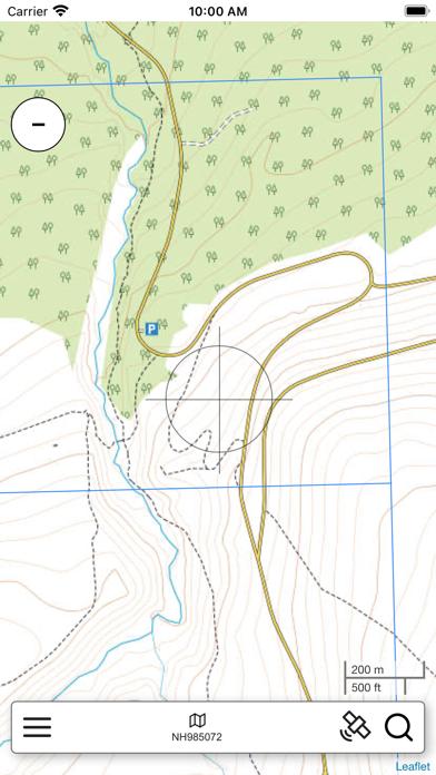 The Cairngorms Outdoor Map Pro screenshot 1