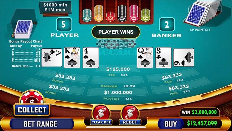 Baccarat - Casino Style