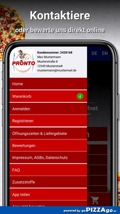 Pronto Pizza Ratingen screenshot 3