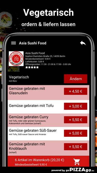 Asia Sushi Food Berlin screenshot 6