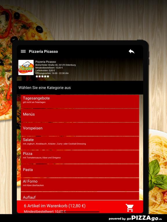 Pizzeria Picasso Oldenburg screenshot 8