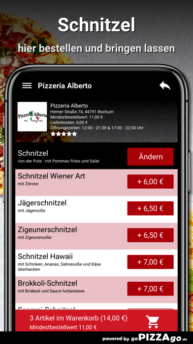 Pizzeria Alberto Bochum screenshot 6