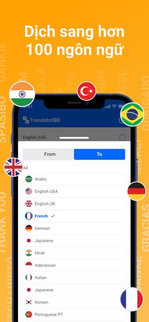 Translator GO: Dịch trực tiếp
