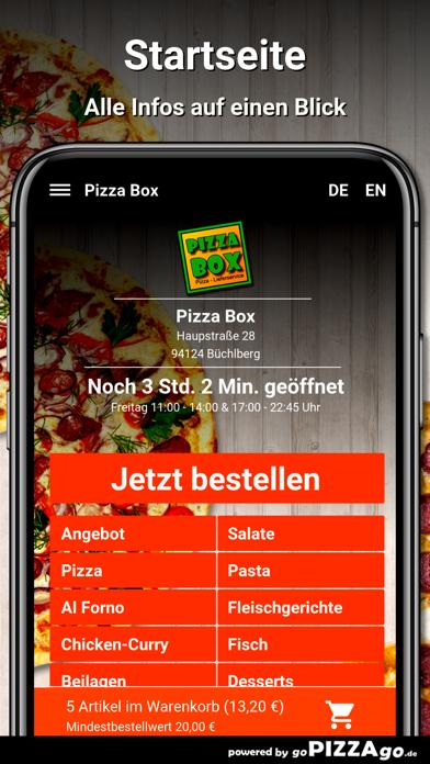 Pizza Box Büchlberg screenshot 2