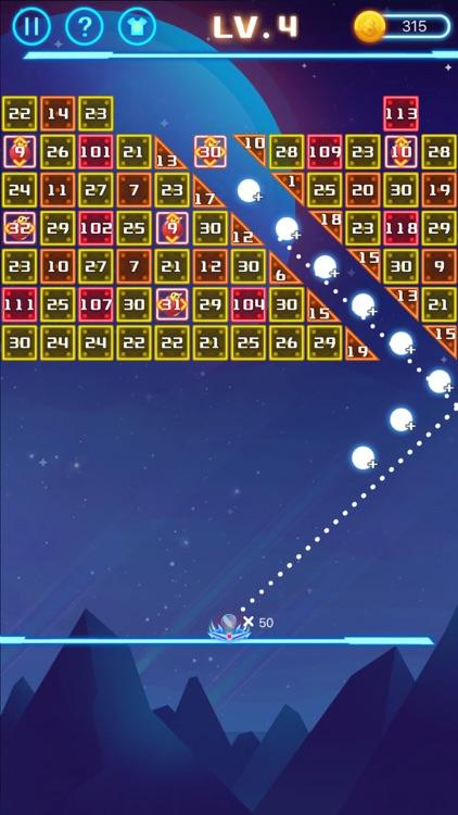 弹球弹不停 - 打砖块小游戏 screenshot-0