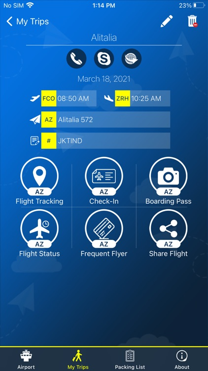 Kennedy Airport Info + Radar screenshot-3