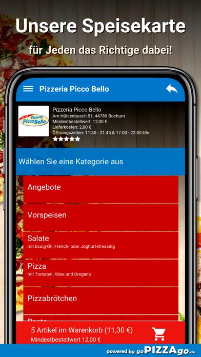 Pizzeria Picco Bello Bochum screenshot 4