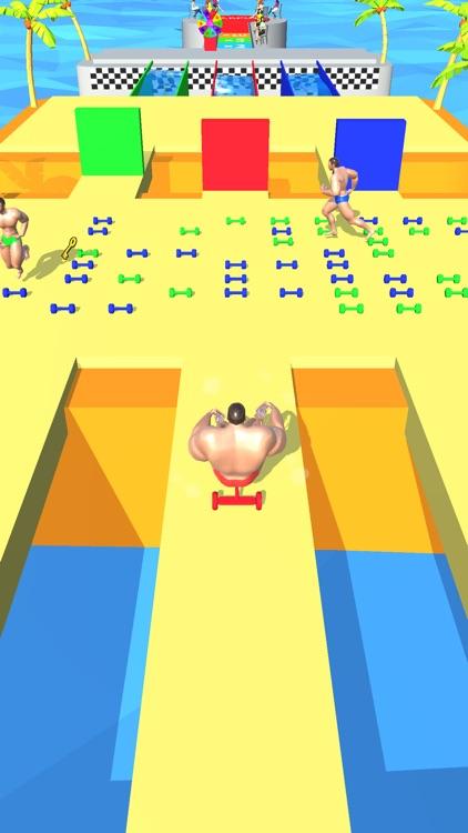 Muscle Race 3D screenshot-3