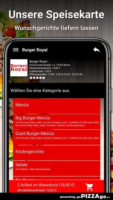 Burger Royal Berlin screenshot 4