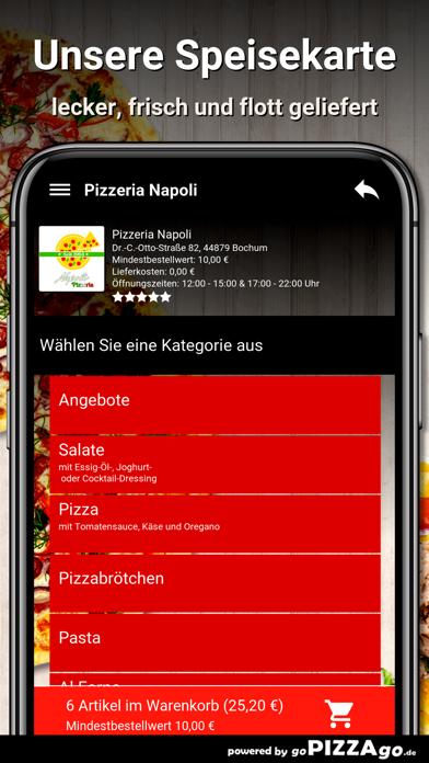 Pizzeria Napoli Bochum screenshot 4