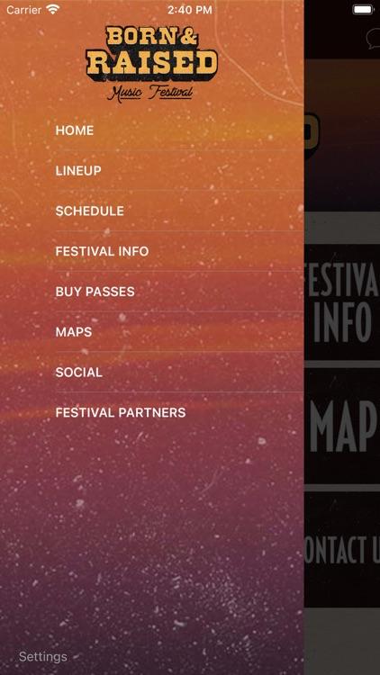 Born & Raised Festival