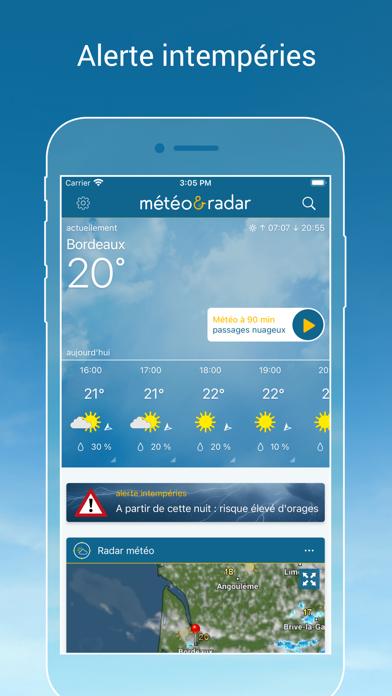 Météo & Radar Premium