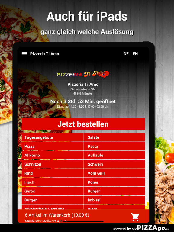 Pizzeria Ti Amo Münster screenshot 7