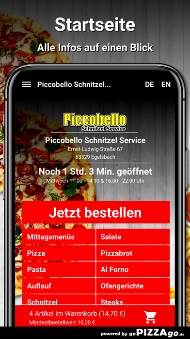 Piccobello Egelsbach screenshot 2