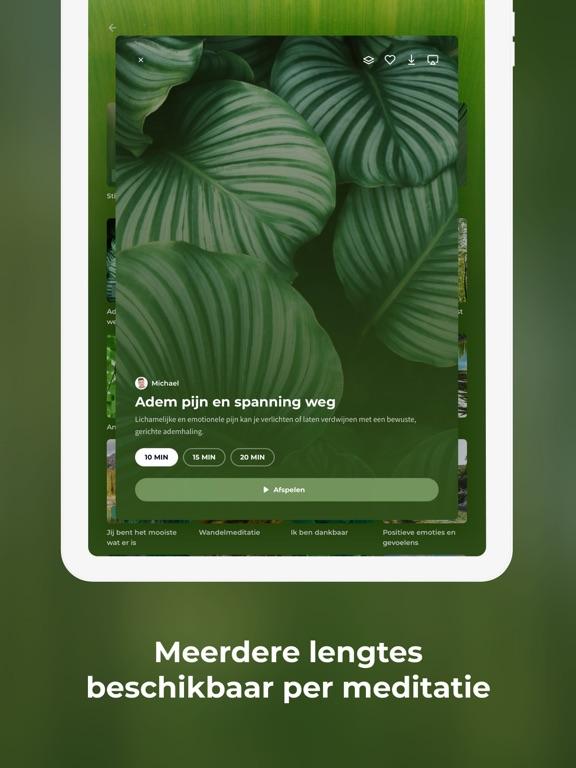Meditation Moments iPad app afbeelding 5