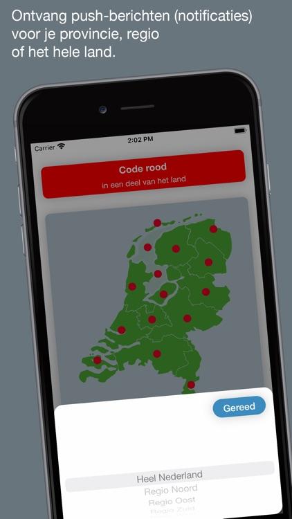 Weeralarm Nederland screenshot-4