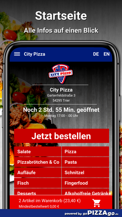 City-Pizza Trier screenshot 2