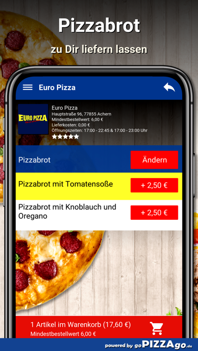 Euro Pizza Achern screenshot 5