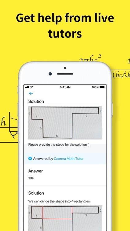 Camera Math - Homework Help screenshot-4