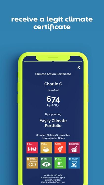 Yayzy Track Carbon Footprint screenshot-7