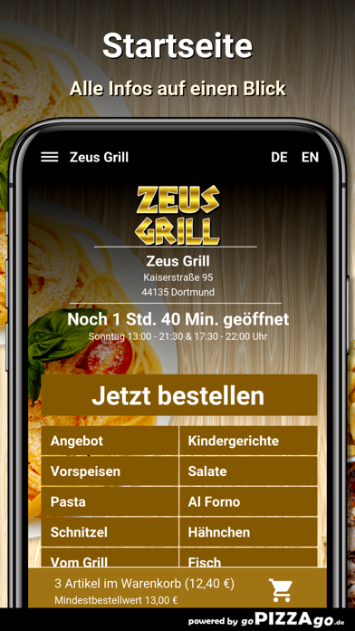 Zeus Grill Dortmund screenshot 2