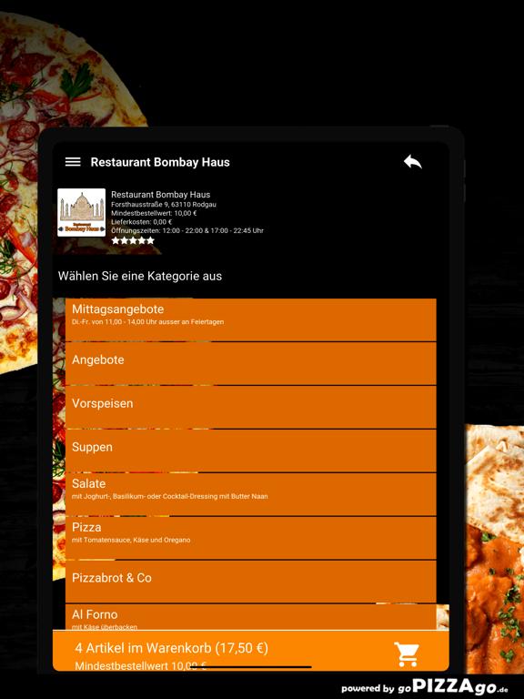 Restaurant Bombay Haus Rodgau screenshot 8