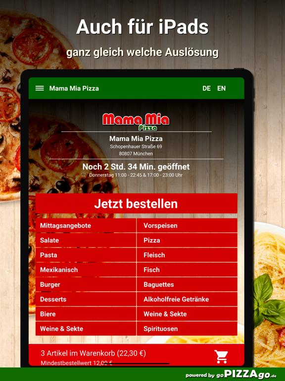 Mama Mia Pizza München screenshot 7