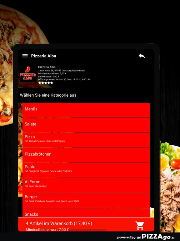 Pizza Alba Duisburg Neuenkamp screenshot 8