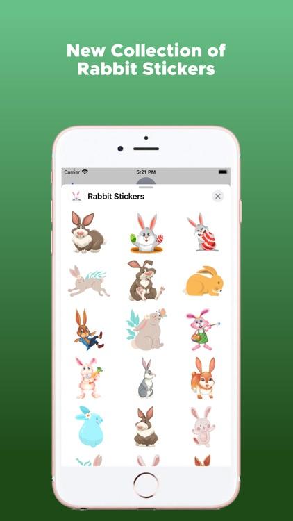Rabbit Stickers Emojis