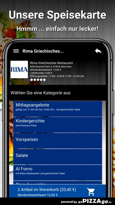 Rima München screenshot 4
