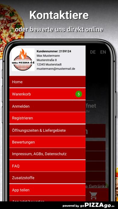 Grill Pizzeria 44 Bielefeld screenshot 3