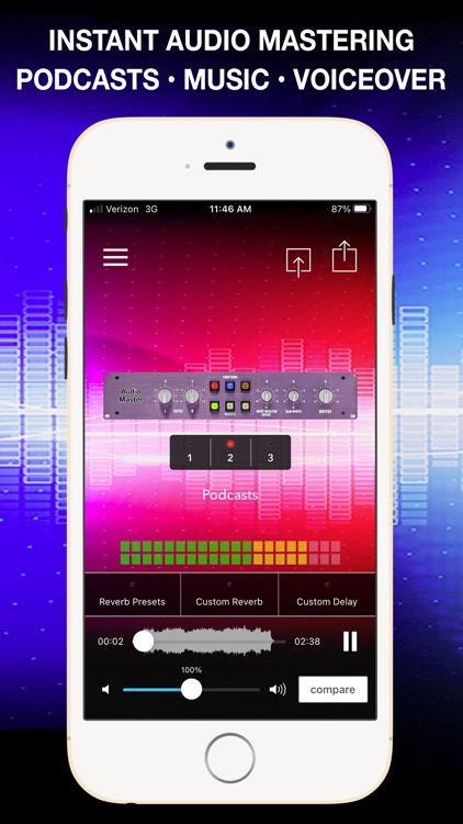AudioMaster: Audio Mastering screenshot-0
