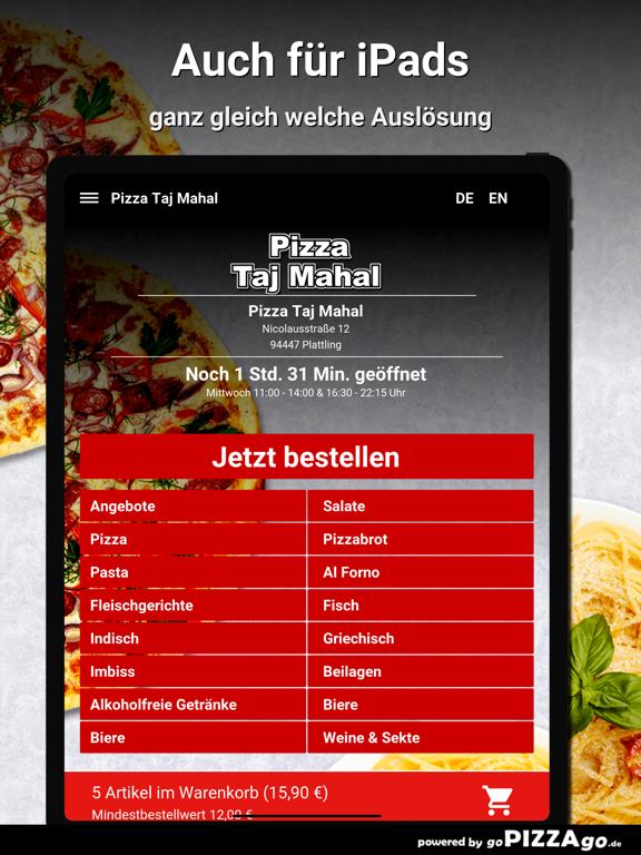 Pizza Taj Mahal Plattling screenshot 7