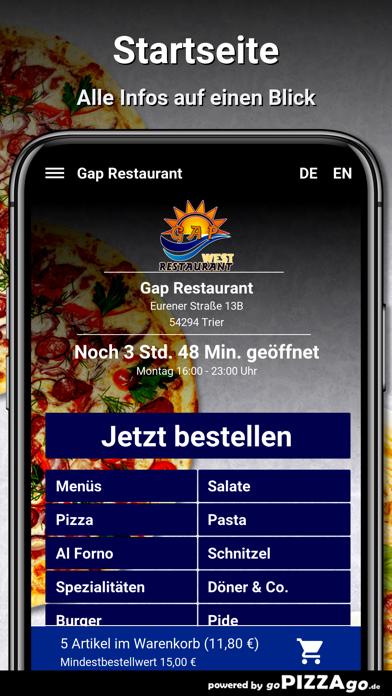 Gap Restaurant Trier screenshot 2