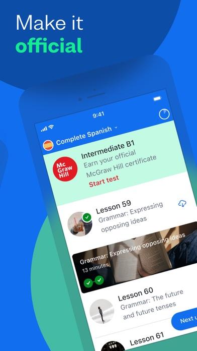 Busuu: Language Learning App Screenshot