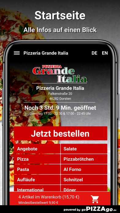 Pizzeria Grande Italia Dorsten screenshot 2