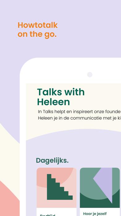 Howtotalk: Positief opvoeden iPhone app afbeelding 5