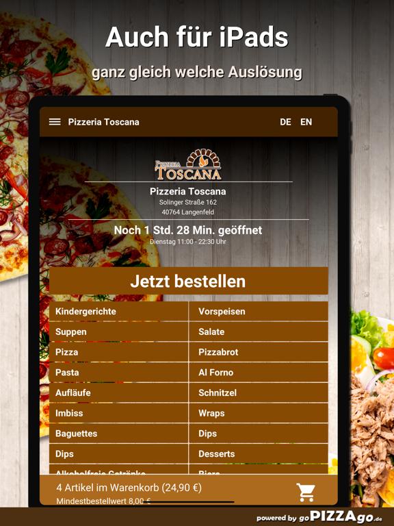 Pizzeria-Toscana Langenfeld screenshot 7