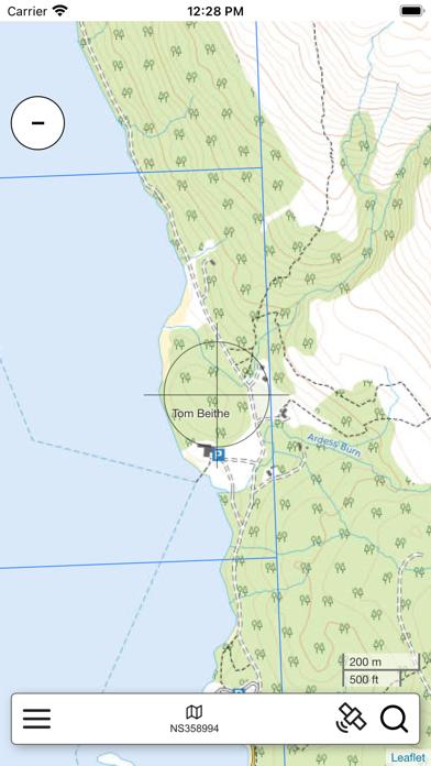 Lomond, South Scotland Map Pro screenshot 2