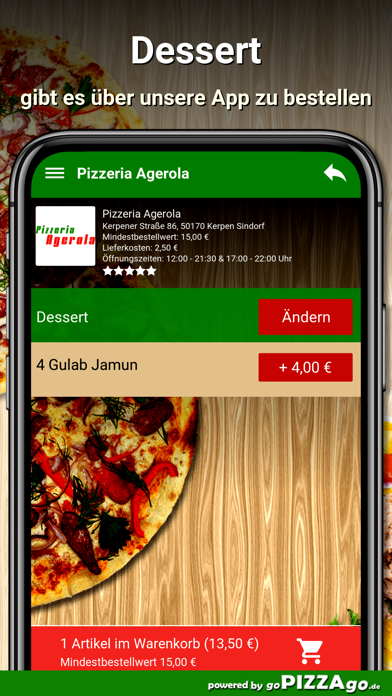 Agerola Kerpen Sindorf screenshot 6