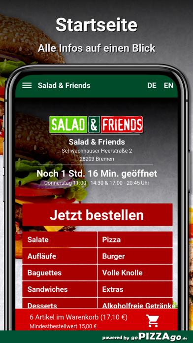 Salad & Friends Bremen screenshot 2